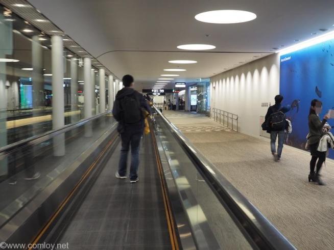 成田空港第二ターミナル サテライトへ