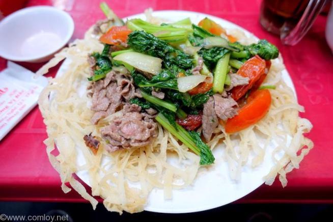 Pho Ha 焼きフォー(Fryed Beef noodle)