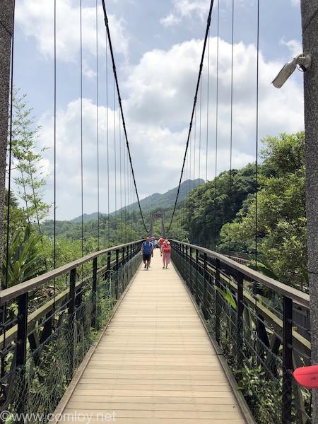 十份瀑布 吊り橋