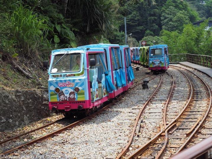 烏来 トロッコ列車