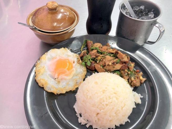 ソイ6ポーチャナー(SOI 6 POCHANA) アヒル肉のガパオライス