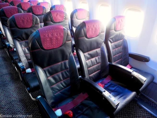 日本航空JAL907 羽田 - 沖縄 エコノミークラス