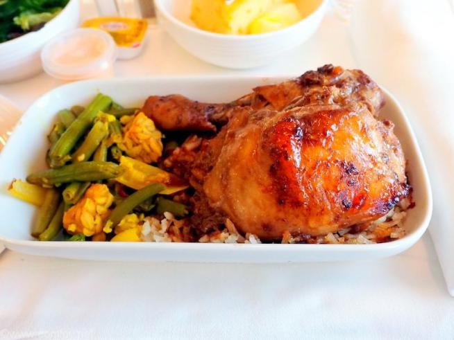 マレーシア航空 クアラルンプール-バンコク ビジネスクラス機内食