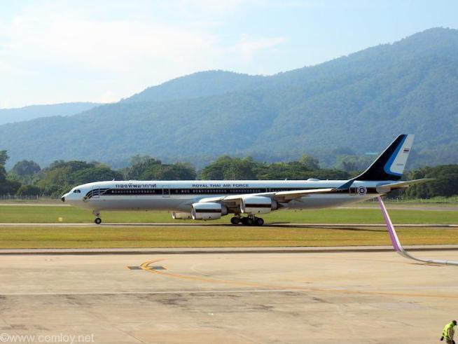 Royal Thai Air Force  HS-TYV Airbus A340-500 A340-541
