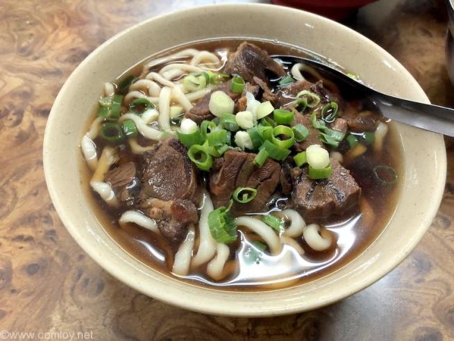 「富宏牛肉麺」牛肉麺