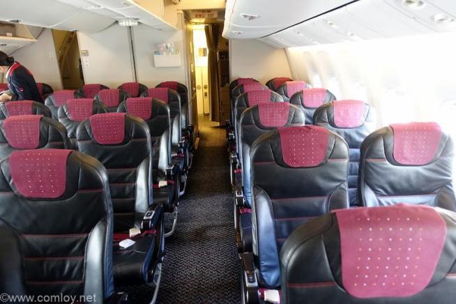 日本航空 JAL119 羽田 - 伊丹 エコノミークラス