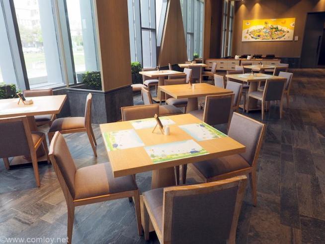 台湾 台東 ザ スイーツ タイトン (The Suites Taitung) 朝食会場