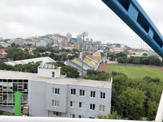 ウラジオストク 「カルセリ(Карусель)」観覧車