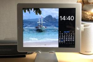 Photo Frame Calendar & Clock