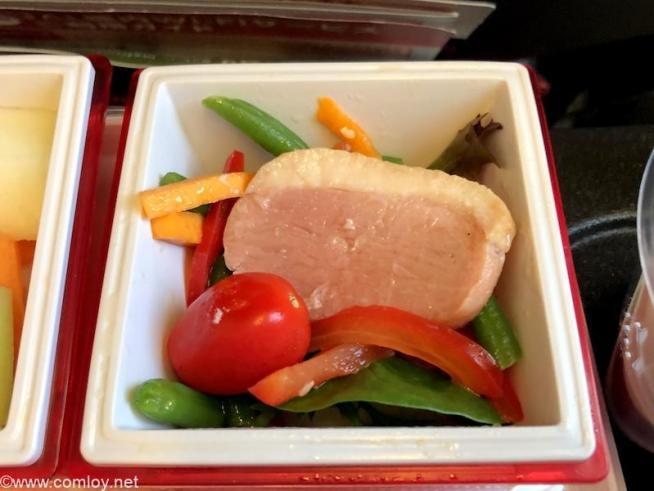 日本航空 JL26 香港 - 羽田 エコノミークラス機内食