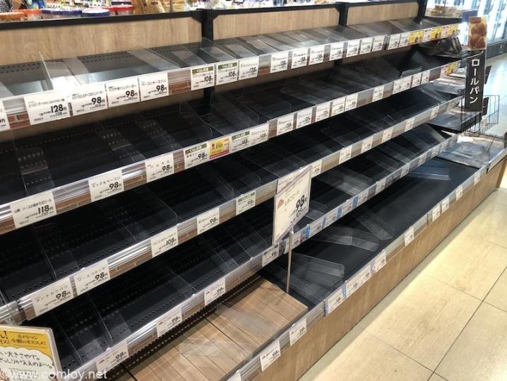 菓子パン売り切れ