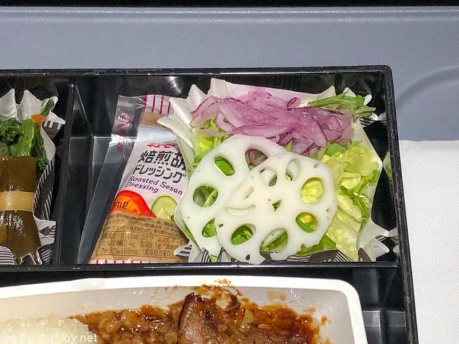 フィリピン航空 PR423 羽田 - マニラ エコノミークラス 機内食