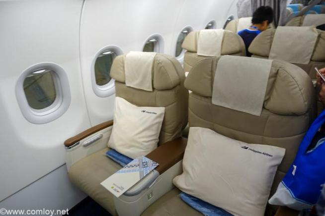 フィリピン航空 PR423 羽田 - マニラ ビジネスクラス