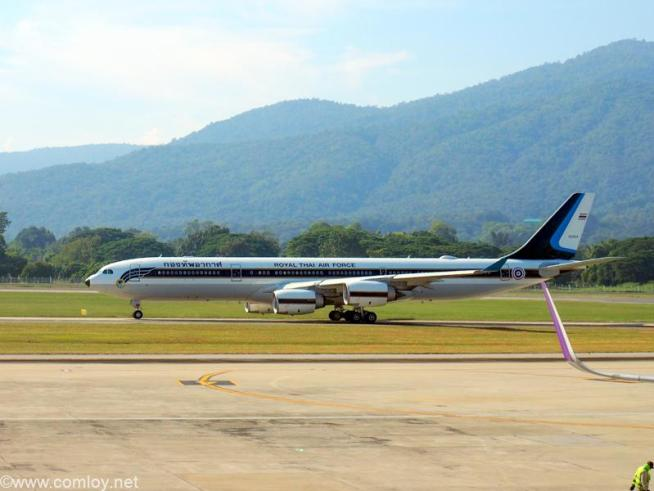 60204 A340-500 Airbus A340-541 698 2016/09〜 タイ王国空軍