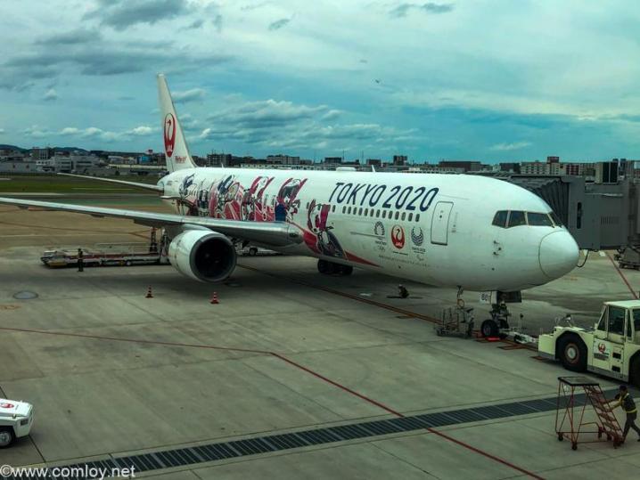 日本航空 JAL314 福岡 - 羽田 ボーディング
