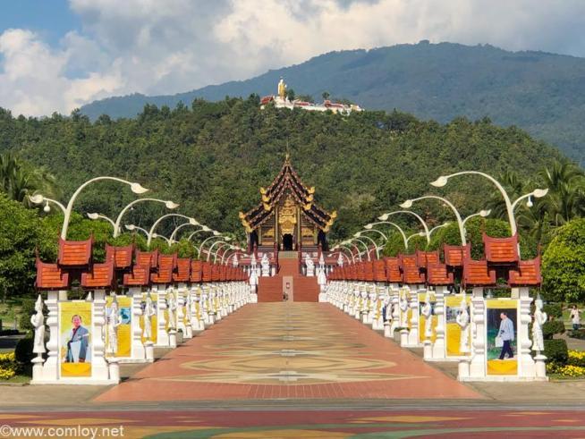 ラーチャプルック花博記念公園(Royal Park Rajapruek)