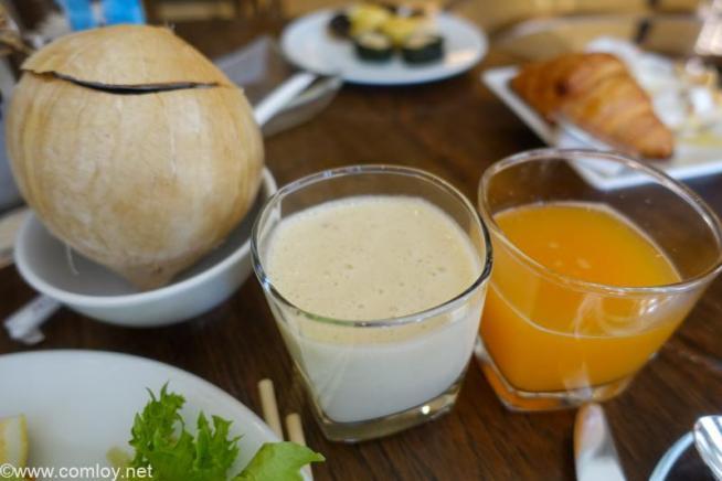 ザ ウェスティン グランデ スクンビット バンコク (The Westin Grande Sukhumvit, Bangkok) 2日目の朝食