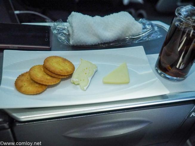 日本航空JL32 バンコク - 羽田ビジネスクラス 機内食