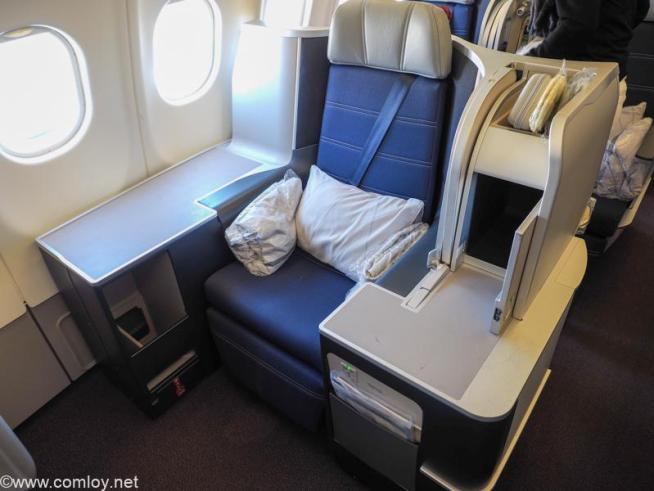 マレーシア航空 MH89 成田 - クアラルンプール ビジネスクラス