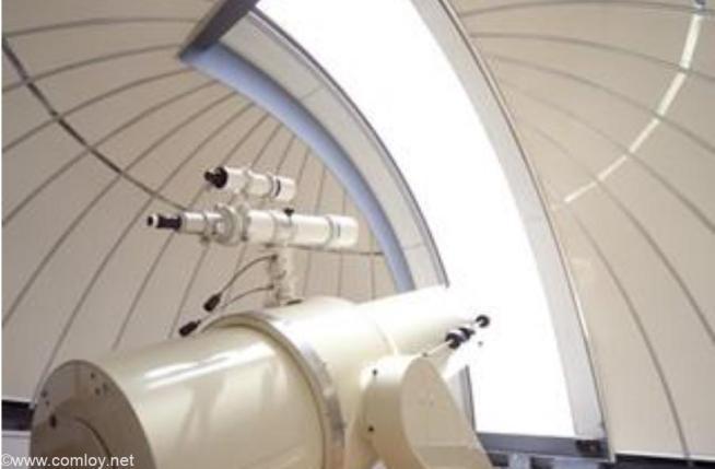 鬼岳天文台 ニュートン式反射望遠鏡(公式HPより引用)
