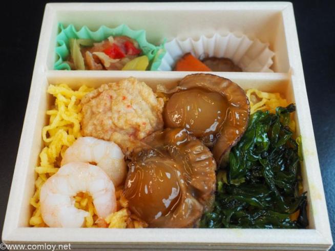 リゾートしらかみ「橅(ぶな)」編成特製弁当「リゾート小箱」