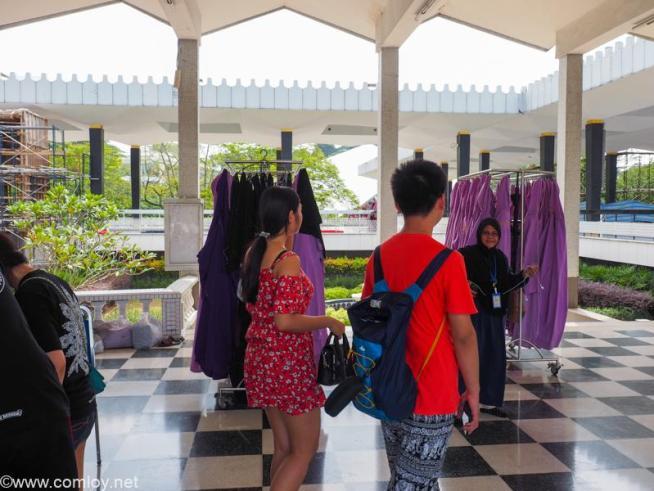 """マレーシア国立モスク """"マスジッド・ネガラ (Masjid Negara)"""""""
