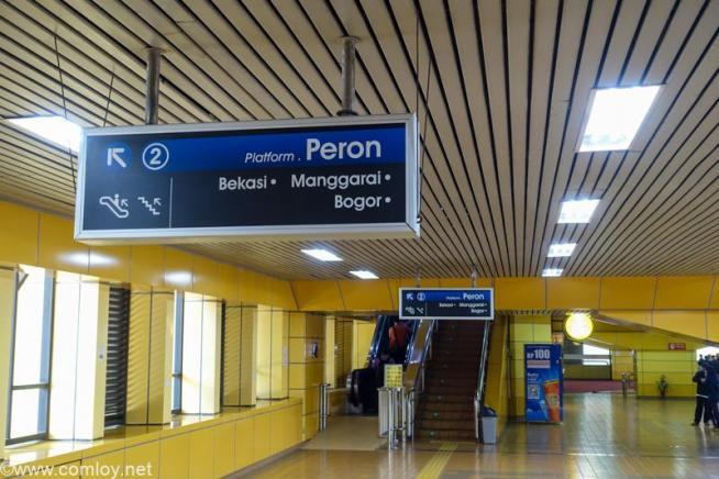 Stasiun Gondangdia駅