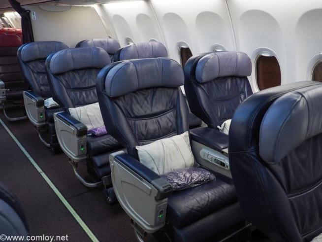 マレーシア航空 MH726 ジャカルタ - クアラルンプール ビジネスクラス