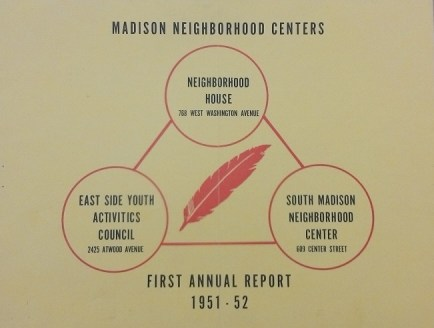 Madison Neighborhood Centers First Annual Report Cover