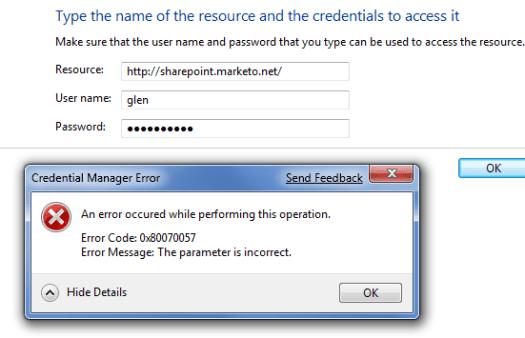 errorcredentials