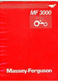 Massey-Ferguson MF 3000 Manuel de service
