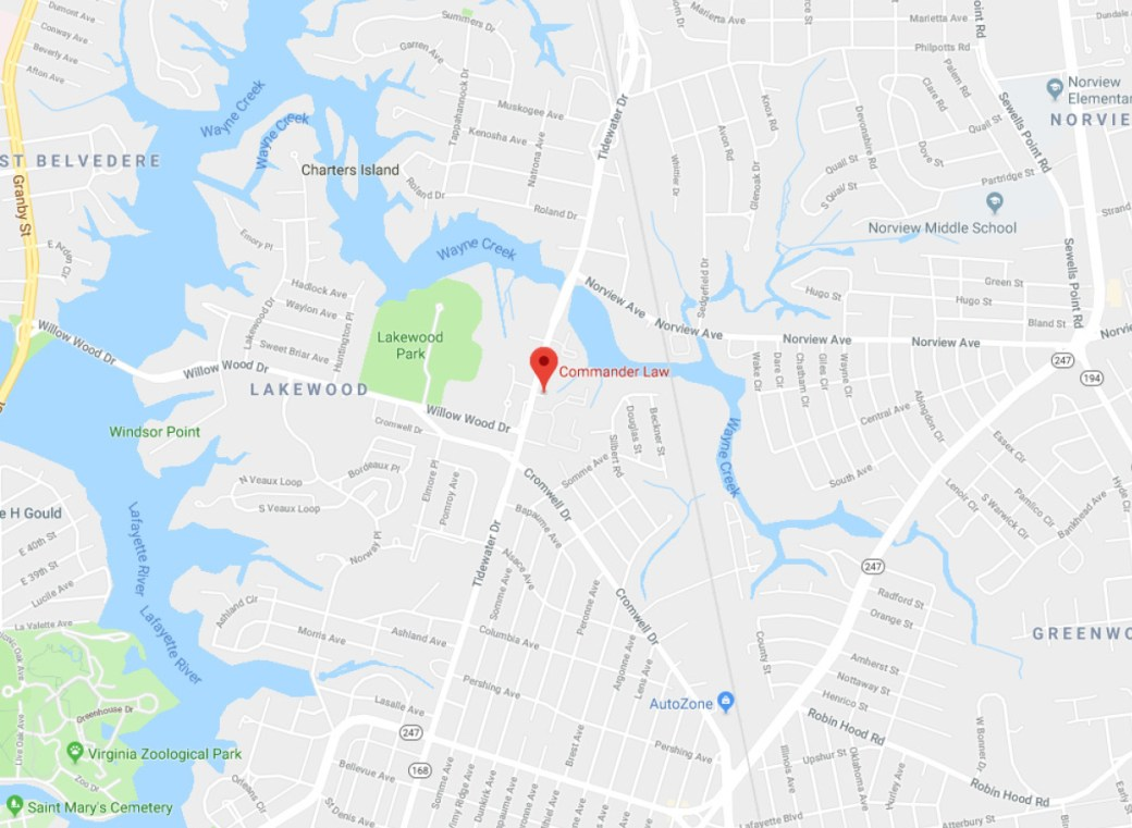 Commander Law - Google Maps