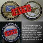 Fake SECDEF Coin