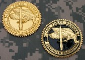 TF Dagger Commemorative Challenge Coin - Overseas Version 1 & 2: Obverse