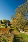 Bloody Lane Tail Approaches Roulette Farm, Antietam National Battlefield Park, Sharpsburg, Maryland, October 19 2009