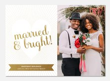 Newlywed Christmas Cards PhotoAffections