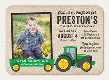 boy birthday invitations simply to