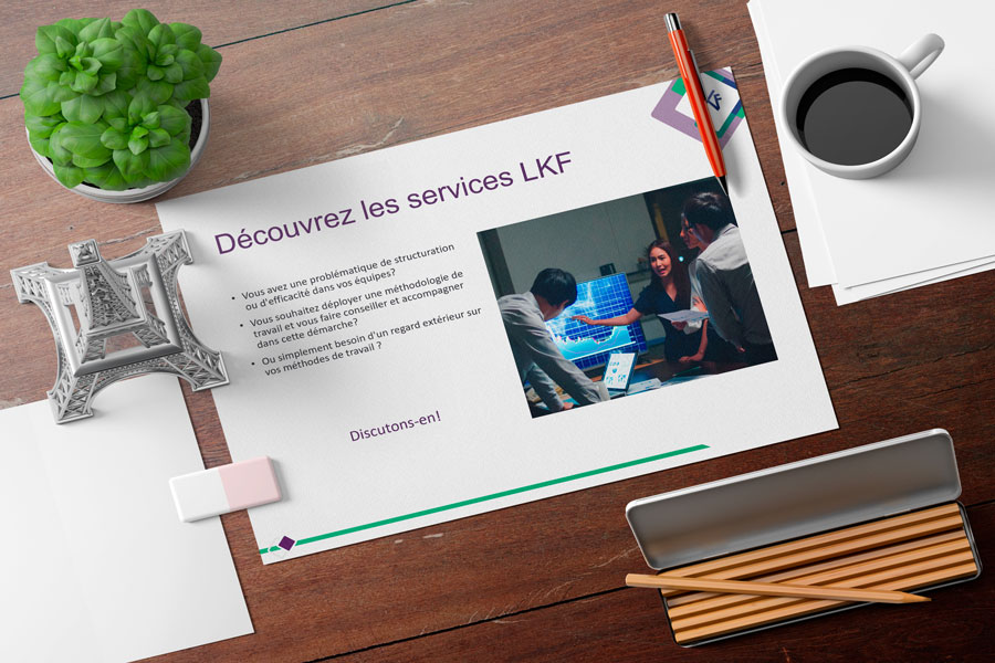 LKF - modèle Powerpoint