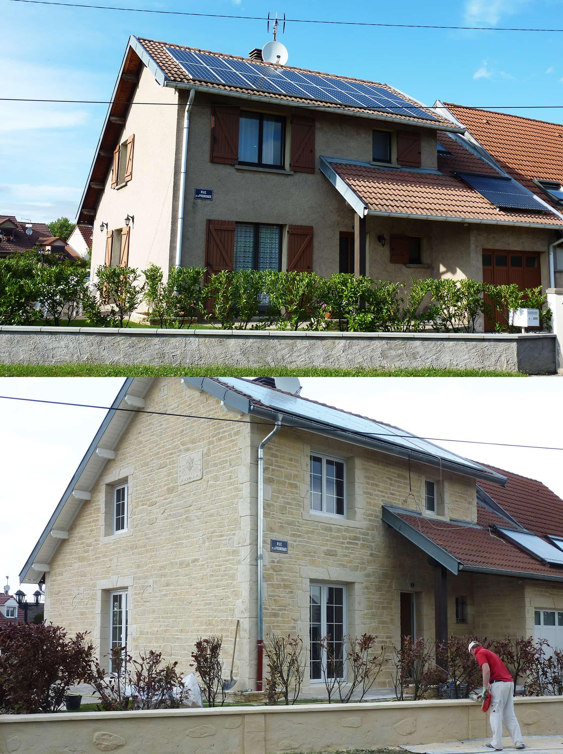 Décoration d'une maison avec pierre de parement 54000 nancy