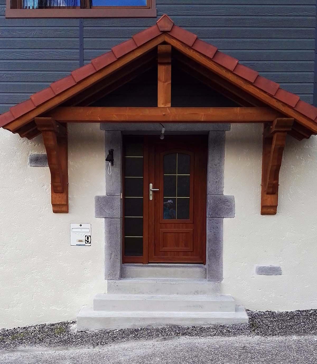 encadrement de porte en granit pierre de taille