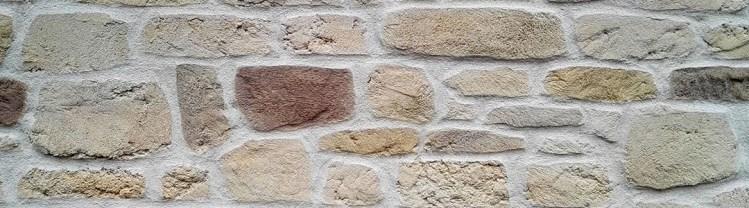 enduit décoratif sculpté pour imiter la pierre