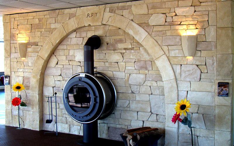 décoration intérieur pierre de parement