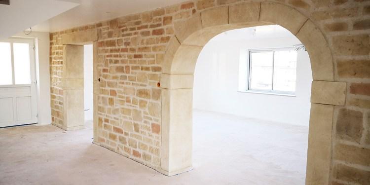 propriétés de la chaux échanges hygrométriques évacuation de l'humidité sur mur intérieur