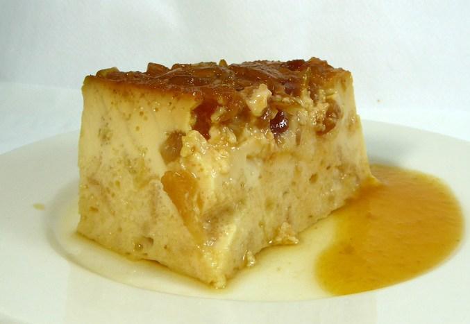 Budín de pan con manzana 2