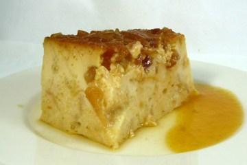 Budín de pan con manzana 10
