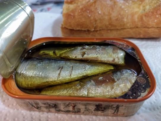 Bocadillos de sardinas