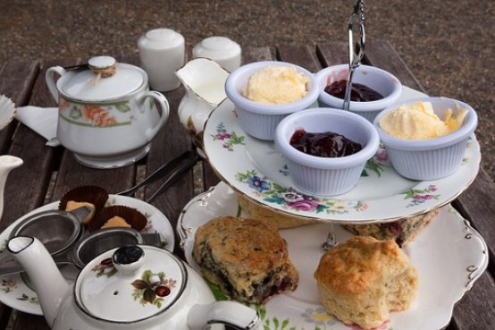Scones in the Afternoon Tea