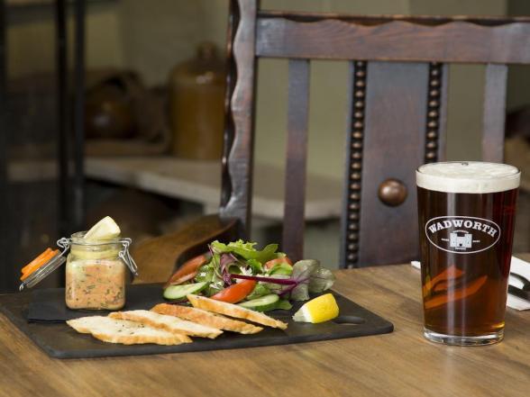 Beer at Crown Inn Bath