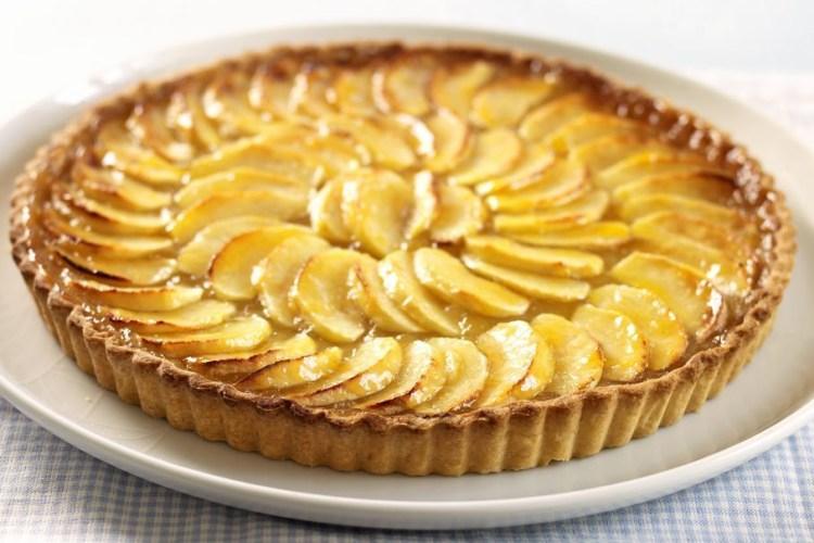 Tarta de manzana francesa 1