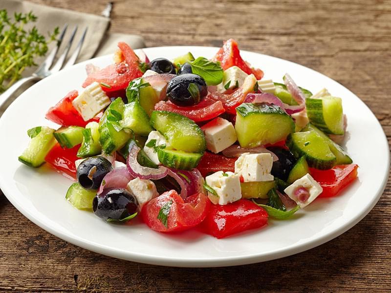 Propiedades de la ensalada griega